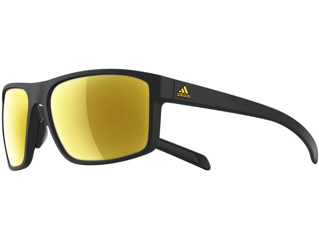 adidas Whipstart Miehet Pyöräilylasit , keltainen/musta